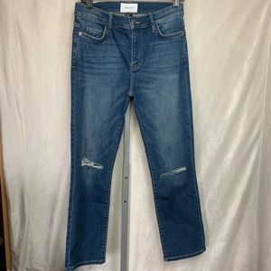 Current Elliot distressed jeans Sz 28